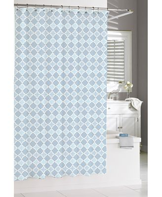 kassatex marrakesh shower curtain - shower curtains - bed & bath