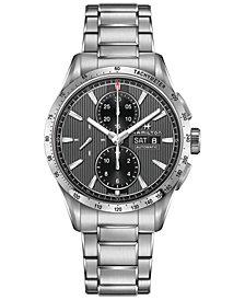 Hamilton Men's Swiss Automatic Broadway Stainless Steel Bracelet Watch 43mm H43516131
