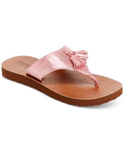 Hanna Andersson Tilde Flip-Flop Sandals, Toddler & Little Girls (4.5-3)