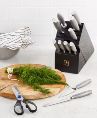 ja henckels modernist 13pc knife block set created for macyu0027s
