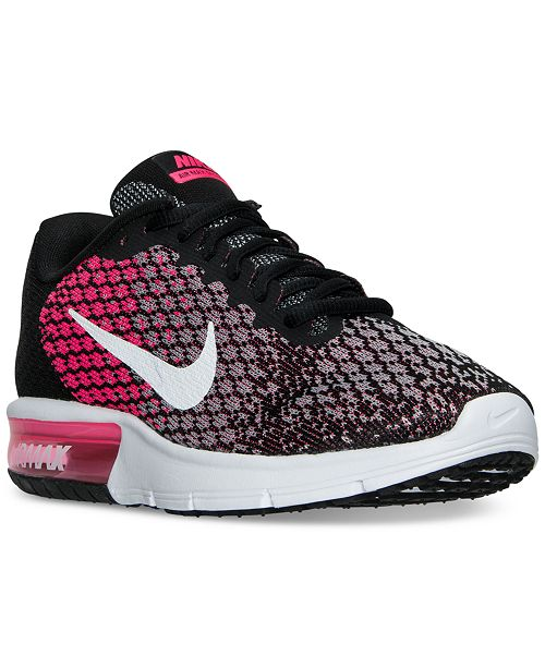 Nike Women's Air Max Sequent 2 Running Shoes from Finish