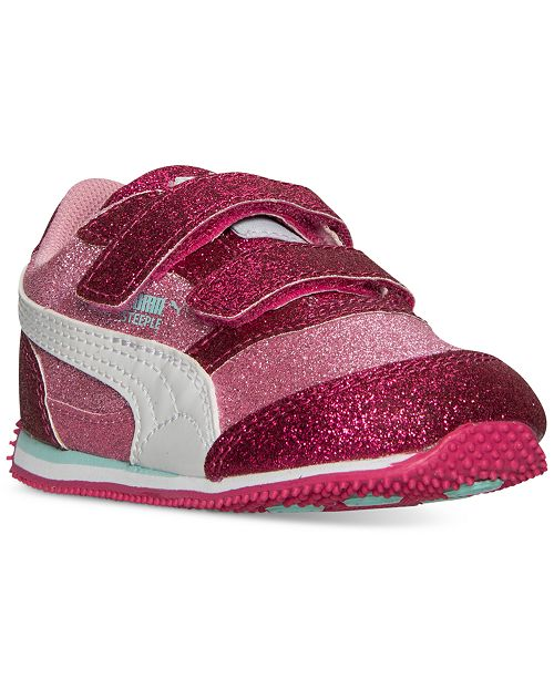 1c023903b964 Puma Toddler Girls' Steeple Glitz Glam Casual Sneakers from Finish ...