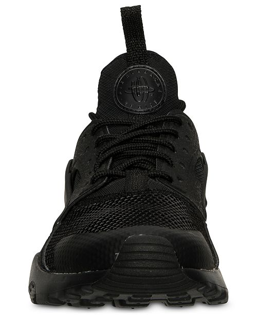 4e3f30e5166b ... Nike Big Boys  Air Huarache Run Ultra Running Sneakers from Finish ...