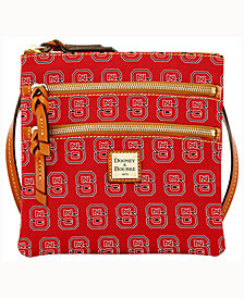 Dooney & Bourke North Carolina State Wolfpack Triple-Zip Crossbody Bag