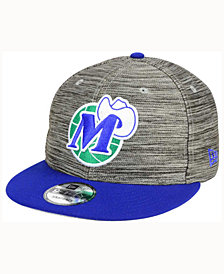 New Era Dallas Mavericks Blurred Trick 9FIFTY Snapback Cap
