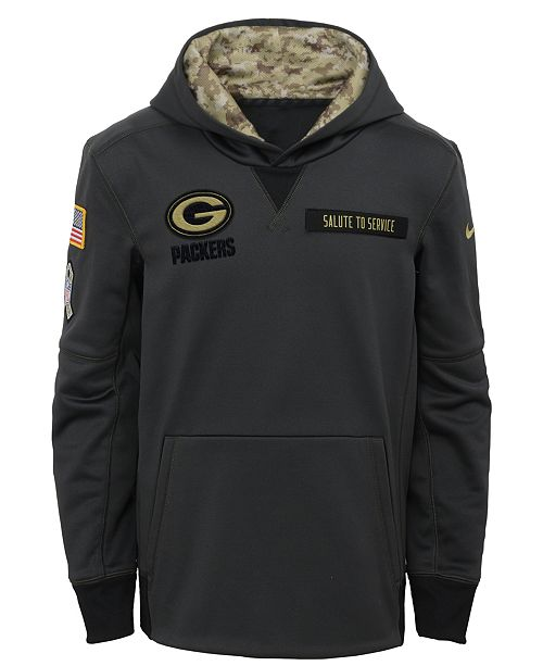 ... Nike Green Bay Packers Salute to Service Hoodie 469448759