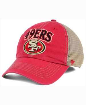 '47 Brand San Francisco 49ers Tuscaloosa Clean Up Cap