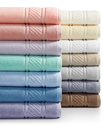 Martha Stewart Collection 100% Cotton Spa Bath Towel Collection, Only at Macy's