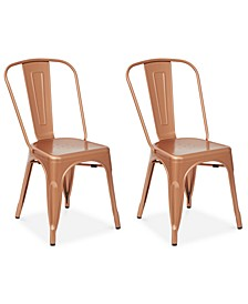 Galan Metal Chairs (Set Of 2)