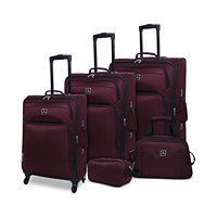 Tag Daytona 5-Pc. Luggage Set (Burgundy or Navy)