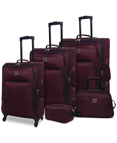 Tag Daytona 5-Pc. Luggage Set, Created for Macy's - Luggage Sets ...