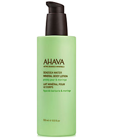 Ahava Mineral Body Lotion - Prickly Pear & Moringa