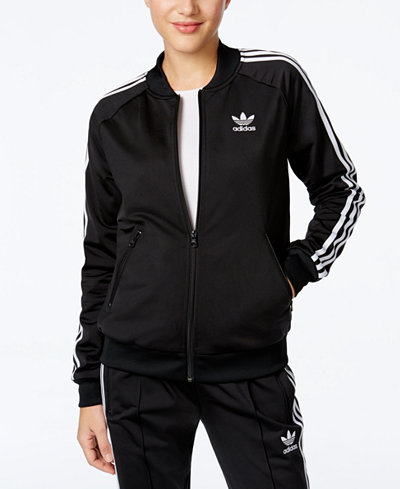 adidas originals superstar track jacket jackets women. Black Bedroom Furniture Sets. Home Design Ideas