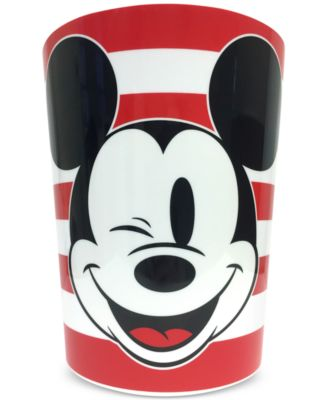 Big Face Mickey Mouse Wastebasket