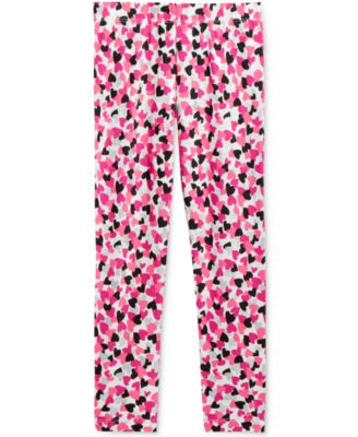 Image of Epic Threads Mix and Match Heart-Print Leggings, Toddler & Little Girls (2T-6X), Only at Macy's
