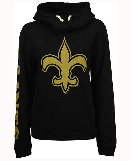 finest selection 13349 1670d Authentic NFL Apparel Women's New Orleans Saints Logo ...