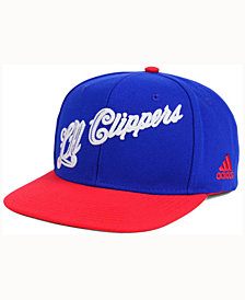 adidas Los Angeles Clippers Seasons Greeting Snapback Cap