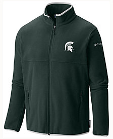 Columbia Men's Michigan State Spartans Fuller Ridge Fleece Jacket