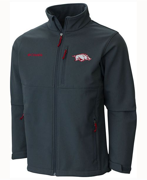 Columbia Men's Arkansas Razorbacks Ascender Softshell Jacket
