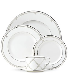 kate spade new york Emmett Street Platinum Collection 5-Piece Place Setting