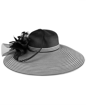 Edwardian Style Hats, Titanic Hats, Derby Hats August Hats Aster Extra Wide Brim Hat $90.00 AT vintagedancer.com