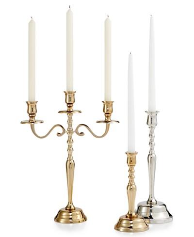 Godinger Lighting by Design Metal Candle Holder Collection