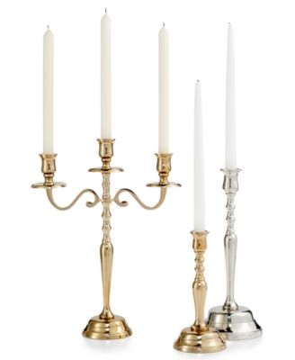 Godinger Lighting by Design Metal Candle Holder Collection  sc 1 st  Macyu0027s : lighting by design candle holders - azcodes.com