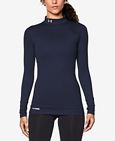 ColdGear Fleece-Lined Mock Neck Top