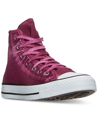 Converse Unisex Chuck Taylor All Star Hi Washed Canvas Casual Sneakers from Finish Line