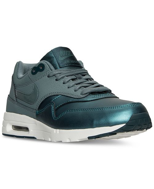 efd87e0a4875 ... Nike Women s Air Max 1 Ultra Essentials SE Running Sneakers from Finish  ...