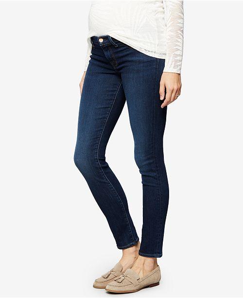 9ac0faa8a1eb6 J Brand Maternity Dark Wash Skinny Jeans & Reviews - Maternity ...