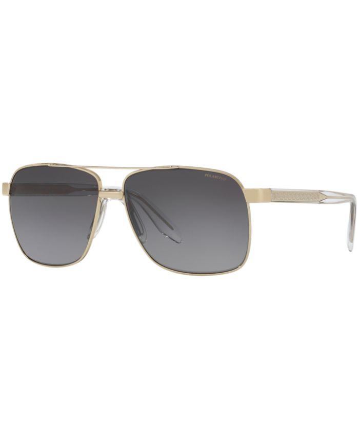 Versace Polarized Sunglasses, VE2174 & Reviews - Sunglasses by Sunglass Hut - Men - Macy's
