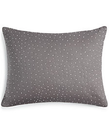 "Calvin Klein Scattered Dash 12"" x 16"" Decorative Pillow"