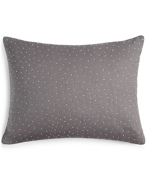 "Calvin Klein Scattered Dash 12"" x 16"" Decorative Pillow"