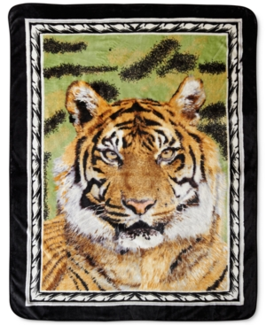 Shavel High Pile Oversized Throws Collection Animal Prints Bedding