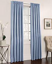 "Miller Curtains Buckingham Antique Satin Pair of 50"" x 95"" Window Panels"