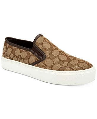 coach cameron slip on sneakers sneakers shoes macy s