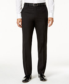 Lauren Ralph Lauren Men's Slim-Fit Total Stretch Black Pants