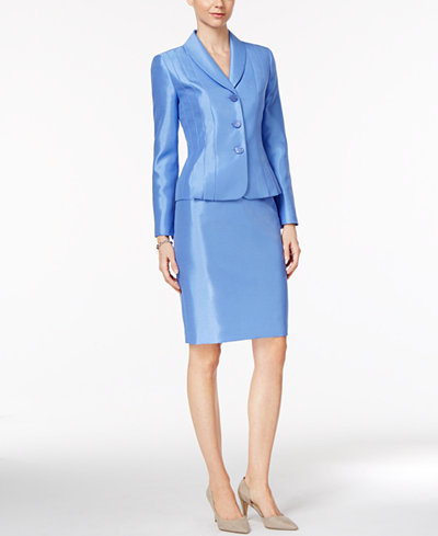Shawl Collar Skirt Suit 68