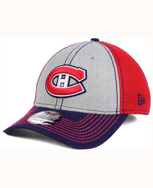 New Era Montreal Canadiens Heathered Neo Cap