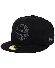New Era New York Islanders Black Graph 59FIFTY Cap