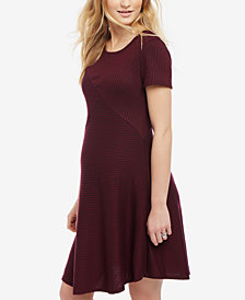 Motherhood Maternity Fit & Flare Dress