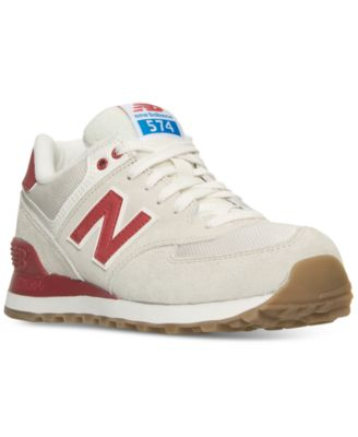 New Balance Women\u0027s 574 Retro Sport Casual Sneakers from Finish Line