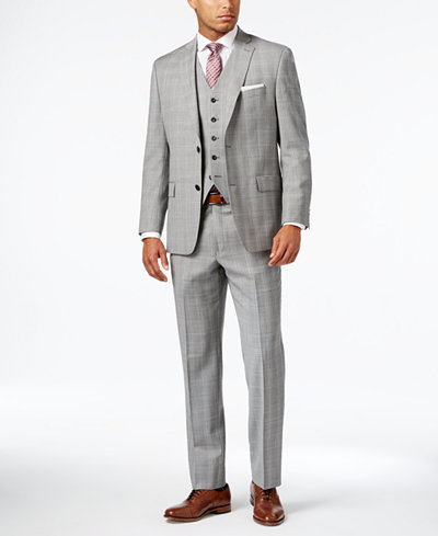 Michael Kors Mens Suits: Blue, Black, Gray - Macy's