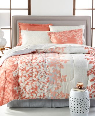 ashley reversible bedding ensembles bed in a bag bed u0026 bath macyu0027s