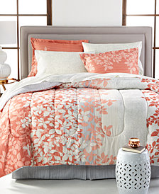 Ashley Reversible 8-Piece Full Bedding Ensemble