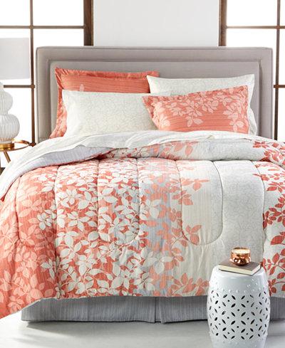 Ashley 8 Pc  Reversible Bedding Ensembles. Ashley 8 Pc  Reversible Bedding Ensembles   Bed in a Bag   Bed