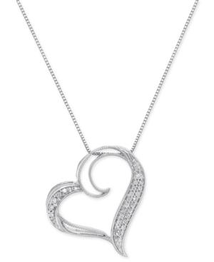 Diamond Floating Heart...