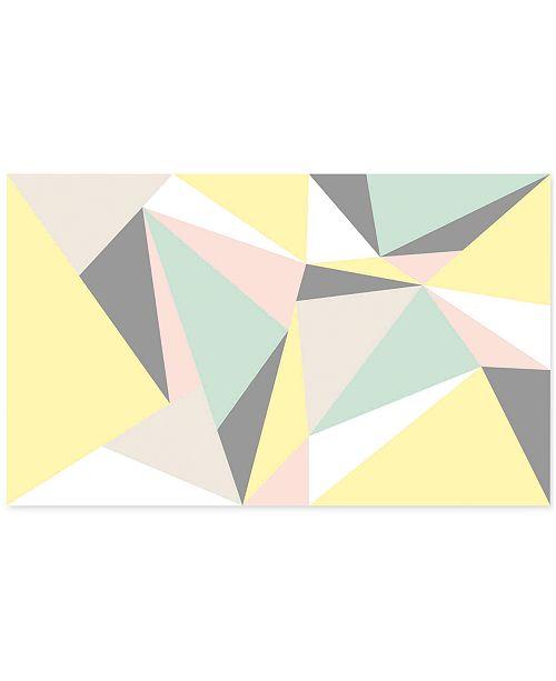 Graham Amp Brown Pastel Geometric Wall Mural Wallpaper