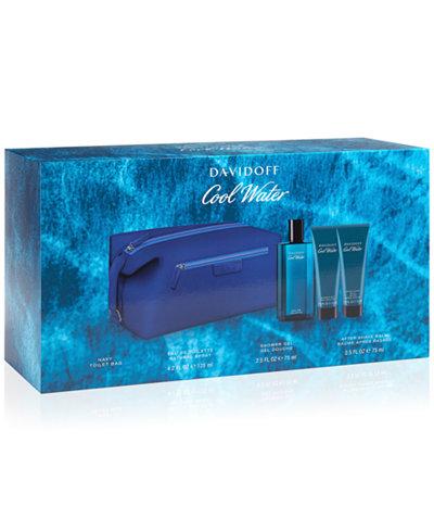 Davidoff 4-Pc. Cool Water For Men Gift Set